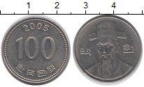 Изображение Барахолка Южная Корея 100 вон 2005 Медно-никель XF