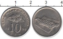Изображение Дешевые монеты Малайзия 10 сен 2000 Медно-никель XF-