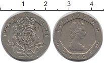 Изображение Барахолка Великобритания 20 пенсов 1982 Медно-никель XF-