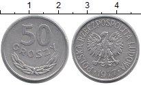 Изображение Барахолка Польша 50 грошей 1977 Алюминий XF