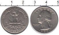 Изображение Барахолка США 1/4 доллара 1985 Медно-никель XF-