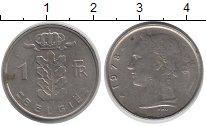 Изображение Барахолка Бельгия 1 франк 1978 Медно-никель VF