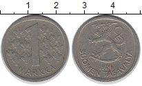 Изображение Дешевые монеты Финляндия 1 марка 1974 Медно-никель VF