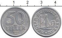 Изображение Дешевые монеты Венгрия 50 филлеров 1982 Алюминий VF