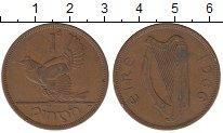 Изображение Монеты Ирландия 1 пенни 1966 Бронза XF