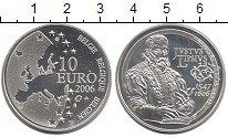 Изображение Монеты Бельгия 10 евро 2006 Серебро Proof 400 - летие  со  дня