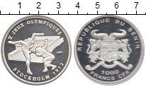 Изображение Монеты Бенин 1000 франков 2003 Серебро Proof-