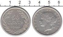 Изображение Монеты Либерия 50 центов 1906 Серебро XF-