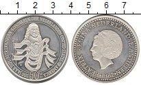 Изображение Монеты Антильские острова 50 гульденов 1982 Серебро Proof- 200 - летие  диплома