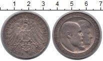 Изображение Монеты Вюртемберг 3 марки 1911 Серебро XF-