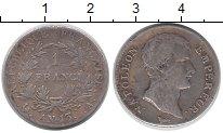 Изображение Монеты Франция 1 франк 1804 Серебро XF-