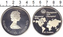 Изображение Монеты Канада 10 долларов 1973 Серебро Proof-