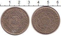 Изображение Монеты Марокко 20 франков 1947 Медно-никель XF