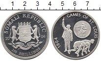 Изображение Монеты Сомали 250 шиллингов 2004 Серебро Proof- Олимпиада 1904.  Сен