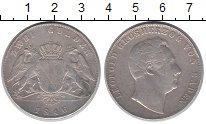 Изображение Монеты Баден 2 гульдена 1846 Серебро VF