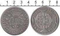 Изображение Монеты Бразилия 960 рейс 1820 Серебро XF- Португальская колони
