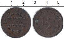 Изображение Монеты Остров Мэн 1/2 пенни 1811 Медь XF-