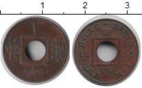 Изображение Монеты Гонконг 1 мил 1866 Медь XF- Виктория