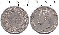 Изображение Монеты Гессен-Дармштадт 1 гульден 1854 Серебро XF