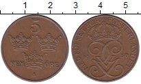 Изображение Монеты Швеция 5 эре 1950 Бронза XF