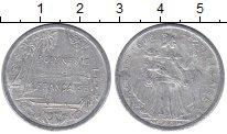 Изображение Монеты Франция Полинезия 2 франка 1996 Алюминий VF
