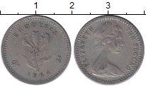 Изображение Монеты Родезия 5 центов 1964 Медно-никель VF