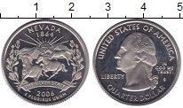 Изображение Монеты США 1/4 доллара 2006 Медно-никель Proof-