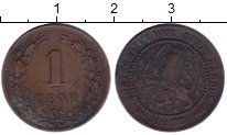 Изображение Монеты Нидерланды 1 цент 1878 Бронза XF
