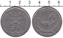 Изображение Монеты Португалия 50 эскудо 1989 Медно-никель XF