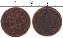 Изображение Монеты Нидерланды 1 цент 1925 Бронза VF