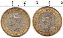 Изображение Монеты Венесуэла 1 боливар 2007 Биметалл XF