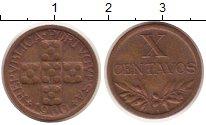 Изображение Монеты Португалия 10 сентаво 1960 Бронза VF