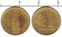 Изображение Монеты Парагвай 1 гарани 1993 Латунь VF