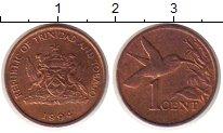 Изображение Монеты Тринидад и Тобаго 1 цент 1994 Бронза XF