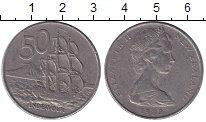 Изображение Монеты Новая Зеландия 50 центов 1982 Медно-никель XF