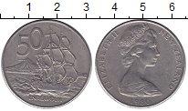 Изображение Монеты Новая Зеландия 50 центов 1980 Медно-никель XF
