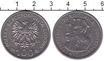 Изображение Монеты Польша 100 злотых 1988 Медно-никель XF