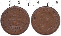 Изображение Монеты ЮАР 1 пенни 1942 Бронза XF