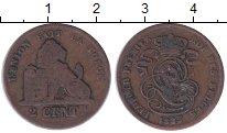 Изображение Монеты Бельгия 2 сантима 1835 Медь VF Леопольд I