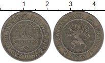 Изображение Монеты Бельгия 10 сантимов 1863 Медно-никель VF