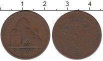 Изображение Монеты Бельгия 2 сантима 1871 Бронза VF