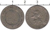 Изображение Монеты Бельгия 5 сантим 1863 Медно-никель VF