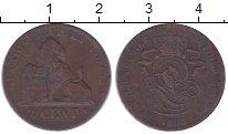 Изображение Монеты Бельгия 2 сантима 1863 Медь VF Леопольд I