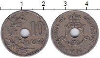 Изображение Монеты Бельгия 10 сантимов 1904 Медно-никель XF