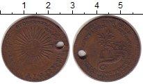 Изображение Монеты Великобритания 1/2 пенни 0 Медь F