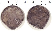 Изображение Монеты Франция 1/4 экю 1603 Серебро VF Генрих IV