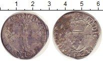 Изображение Монеты Франция 1/4 экю 0 Серебро VF Генрих III