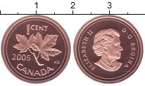 Изображение Монеты Канада 1 цент 2005 Бронза Proof-