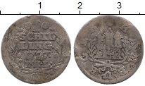 Изображение Монеты Гамбург 1 шиллинг 1727 Серебро VF Герб