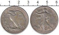 Изображение Монеты США 1/2 доллара 1943 Серебро VF Свобода